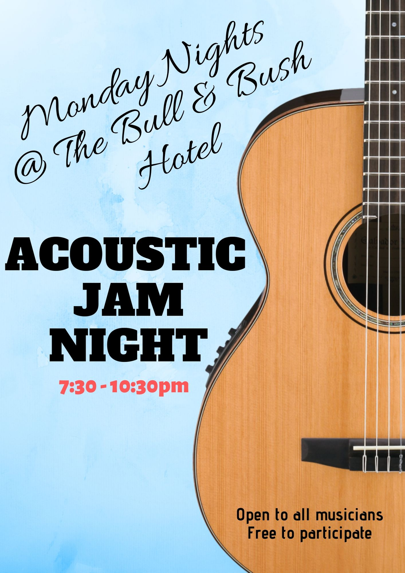 Acoustic-Jam-Night